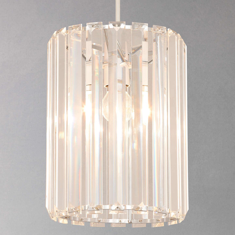 BuyJohn Lewis Frieda Easy to Fit Crystal Ceiling Shade