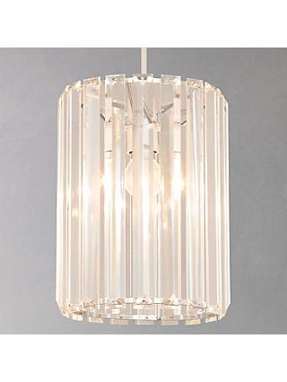 John Lewis & Partners Frieda Easy-to-Fit Crystal Ceiling Shade