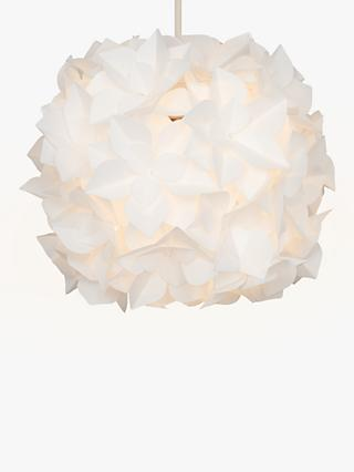 John Lewis & Partners Lotus Easy-to-Fit Flower Ceiling Shade