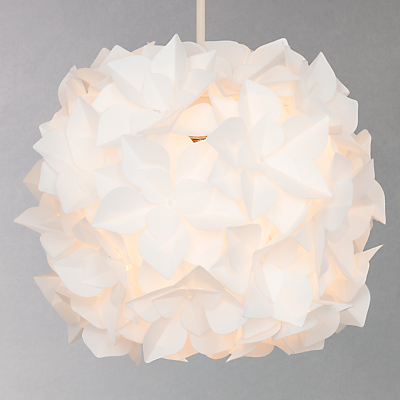 John Lewis Lotus Easy-to-Fit Flower Pendant Shade