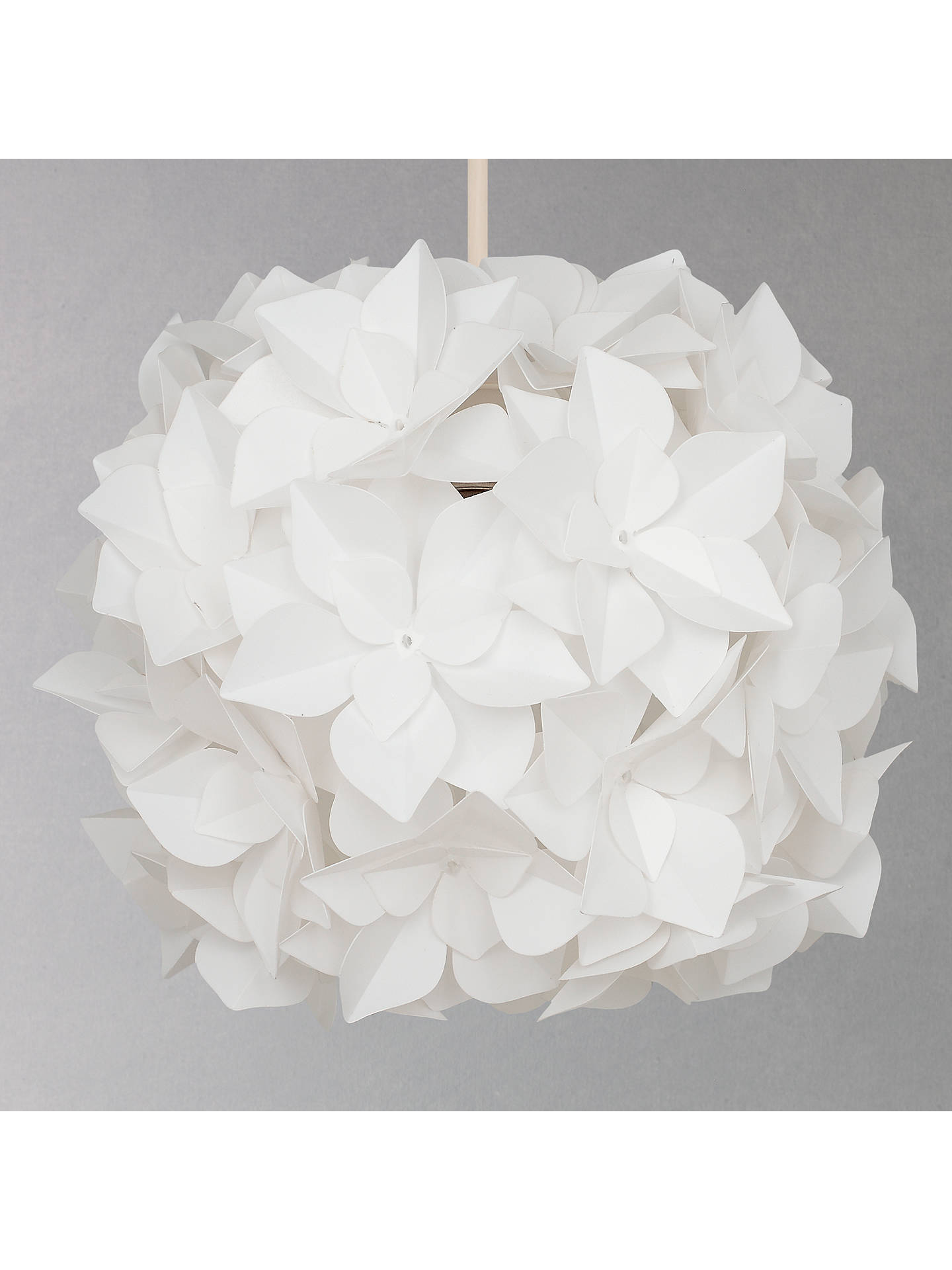 BuyJohn Lewis & Partners Lotus Easy-to-Fit Flower Ceiling Shade Online at johnlewis.com