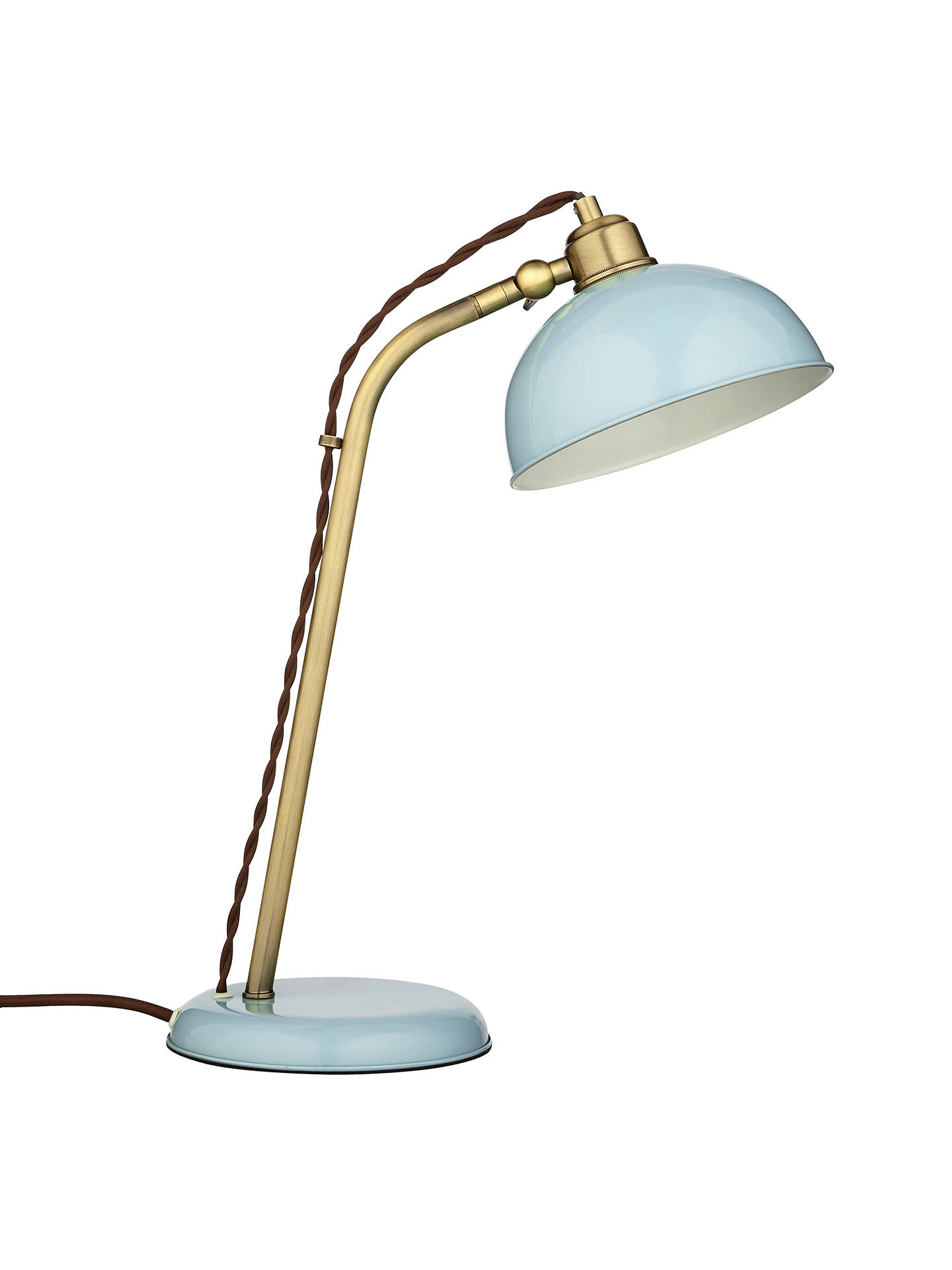 Buy John Lewis Plymouth Touch Task Lamp, Aqua Online at johnlewis.com