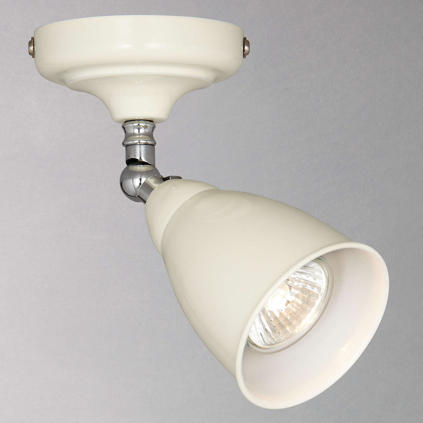 John lewis plymouth single led spotlight at john lewis buyjohn lewis plymouth single led spotlight ivory online at johnlewis aloadofball Image collections