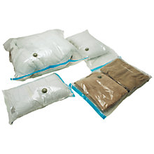 Buy John Lewis Vacuum Bags, Set of 4 Online at johnlewis.com