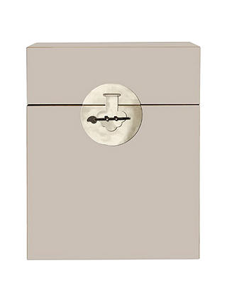 Buy John Lewis Chinese Collection Suri Trunk, Oyster Online at johnlewis.com