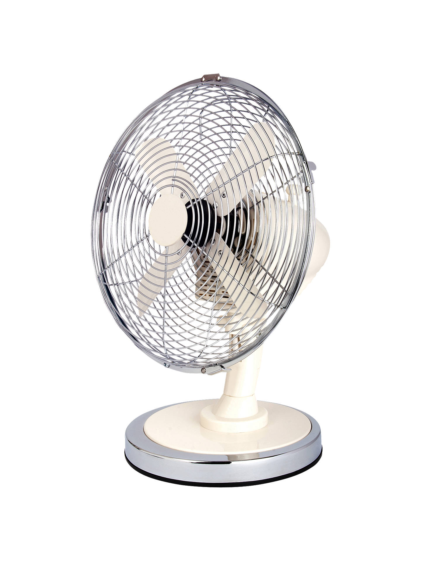 BuyNSA'UK DF-102CM White Desk Fan, 10 Inch Online at johnlewis.com