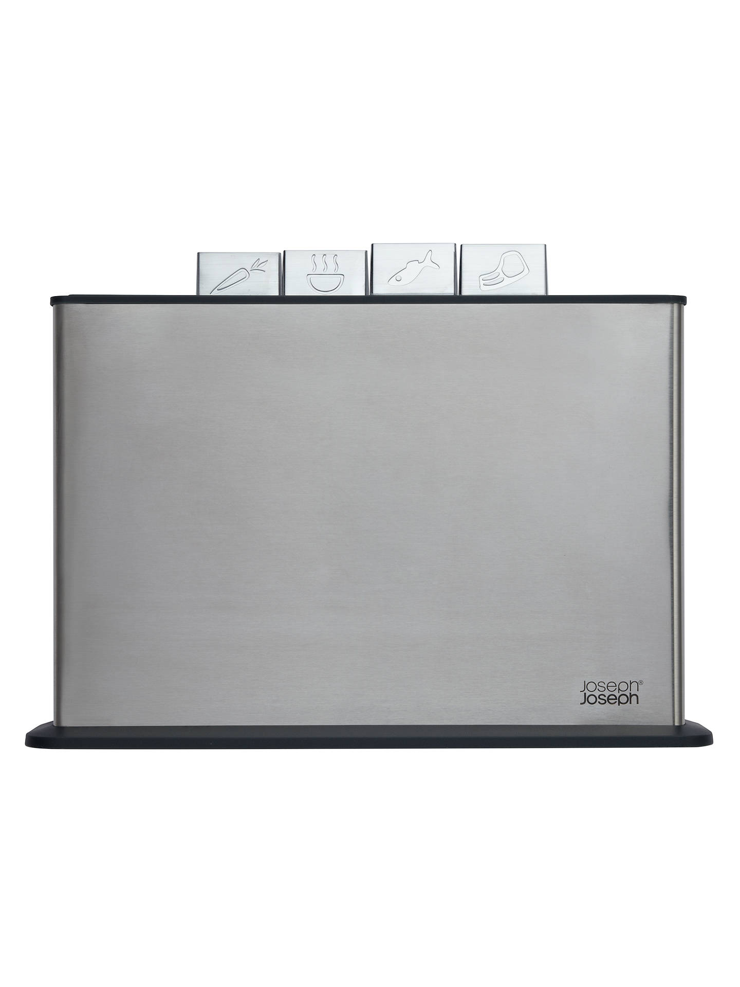 joseph joseph 100 collection index steel chopping boards. Black Bedroom Furniture Sets. Home Design Ideas