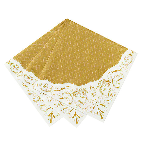 Buy Talking Tables Party Porcelain Paper Napkins, Pack of 20 Online at johnlewis.com