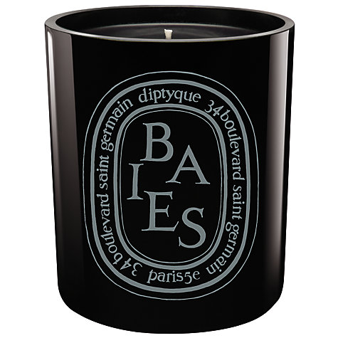Buy diptyque baies noire candle 300g john lewis for Buy diptyque candles online