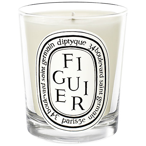 Buy Diptyque Figuier Scented Mini Candle, 70g Online at johnlewis.com
