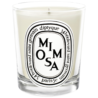 Diptyque Mimosa Scented Mini Candle, 70g