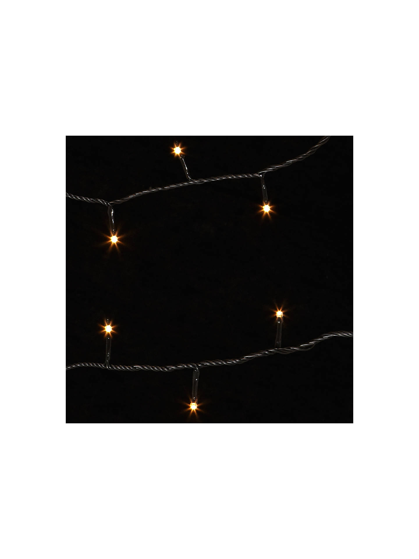 John Lewis Partners Durawise 96 Led Battery Operated Indoor Outdoor Christmas Lights