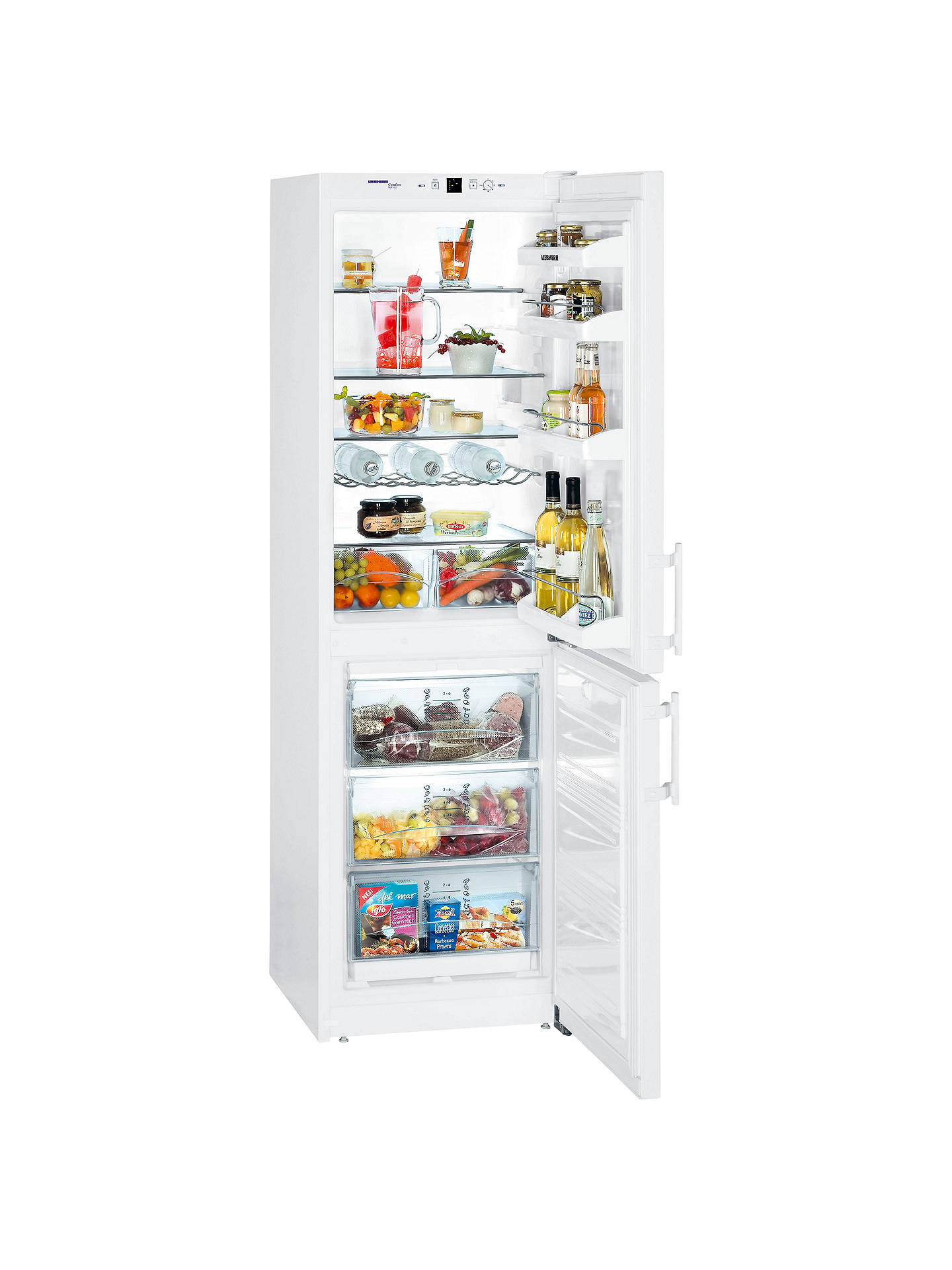 Liebherr CUN3033-22 Fridge Freezer, White