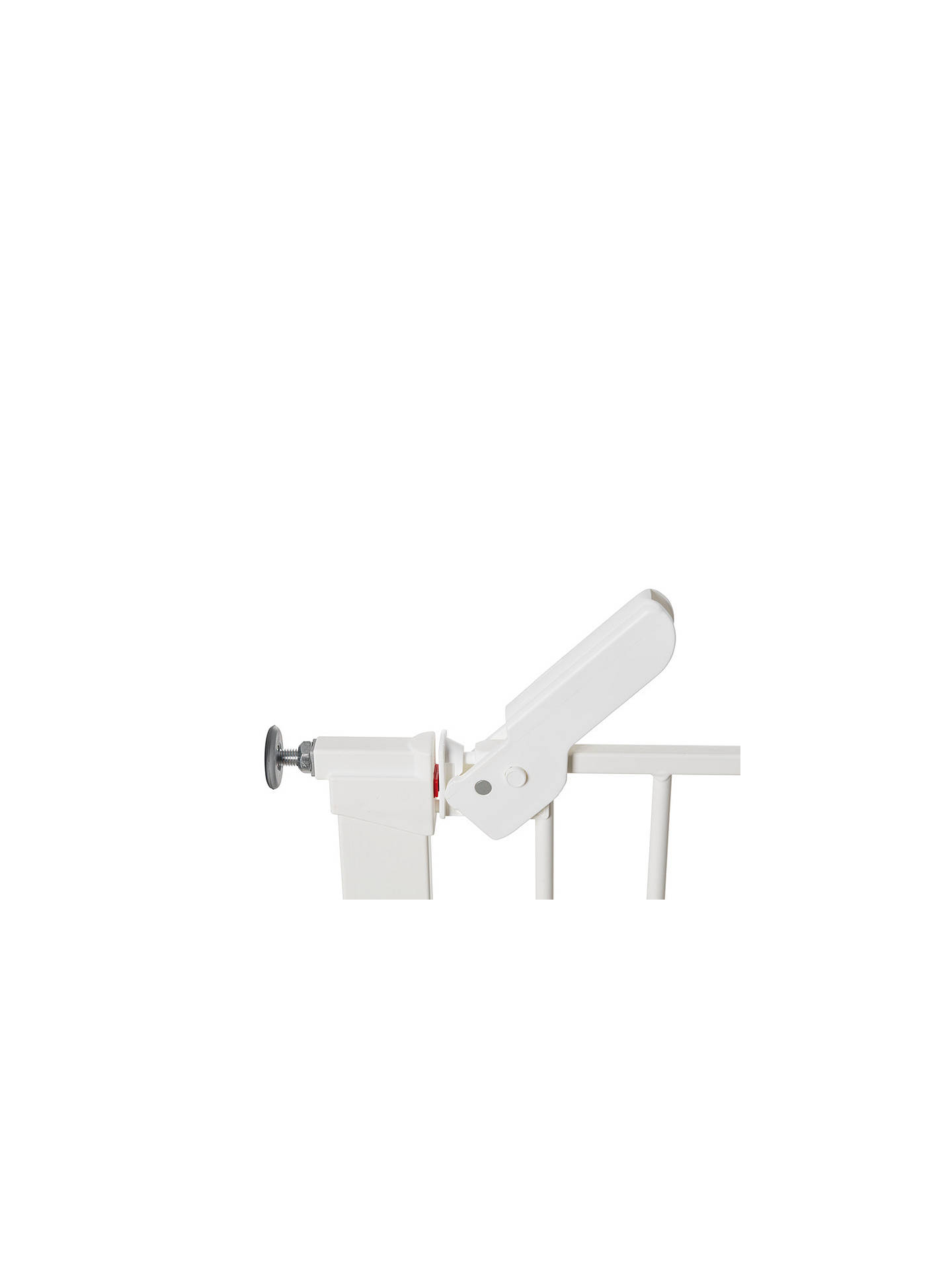 BuyBabyDan Premier True Pressure Gate, White Online at johnlewis.com