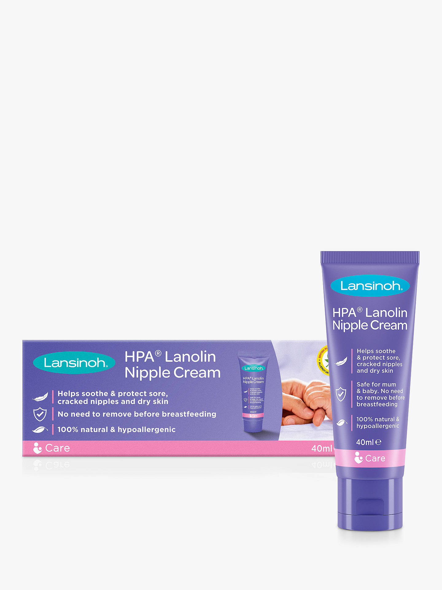 BuyLansinoh HPA Lanolin Cream, 40ml Online at johnlewis.com