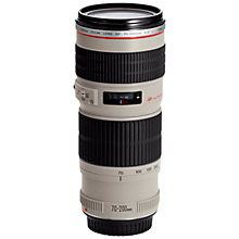 Buy Canon EF 70-200mm f/4L USM Telephoto Lens Online at johnlewis.com