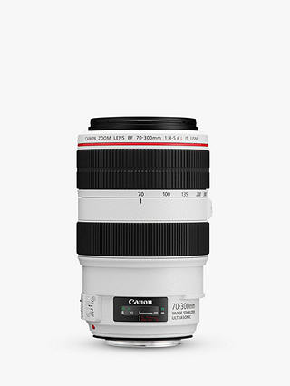 Buy Canon EF 70-300mm f/4-5.6L IS USM Telephoto Lens Online at johnlewis.com