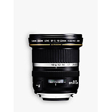 Buy Canon EF-S 10-22mm f/3.5-4.5 USM Wide Angle Lens Online at johnlewis.com