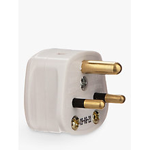 Buy John Lewis 3-Roundpin Plug, 2 Amp Online at johnlewis.com
