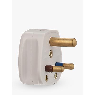 John Lewis 3 Round Pin Plug, 5 Amp Review thumbnail