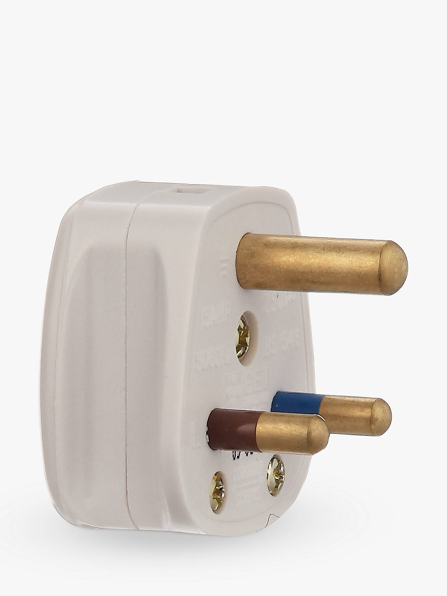 Buy John Lewis & Partners 3 Round Pin Plug, 5 Amp Online at johnlewis.com