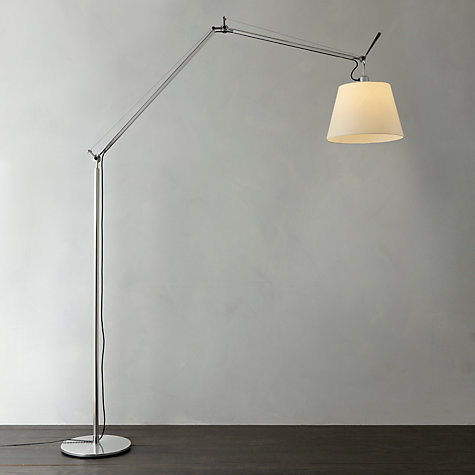artemide tolomeo mega led alluminio dimmer su cavo pergamena 360 mm 36 cm ebay. Black Bedroom Furniture Sets. Home Design Ideas