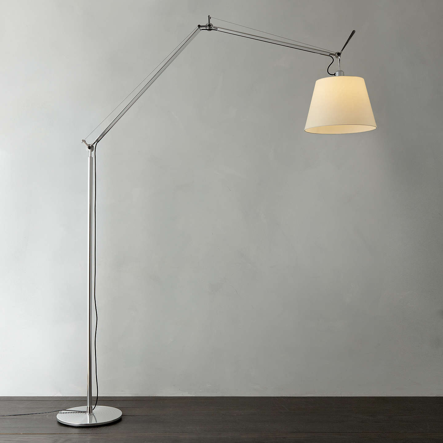artemide tolomeo mega terra floor lamp at john lewis. Black Bedroom Furniture Sets. Home Design Ideas