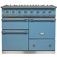 Buy Lacanche Macon LG1053GE Dual Fuel Range Cooker, Prussian Blue / Chrome Trim Online at johnlewis.com