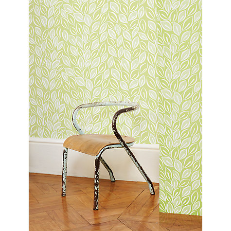 Buy MissPrint Leaves Wallpaper Online at johnlewis.com