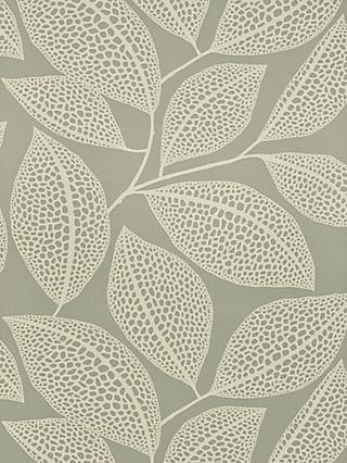 MissPrint Pebble Leaf Wallpaper