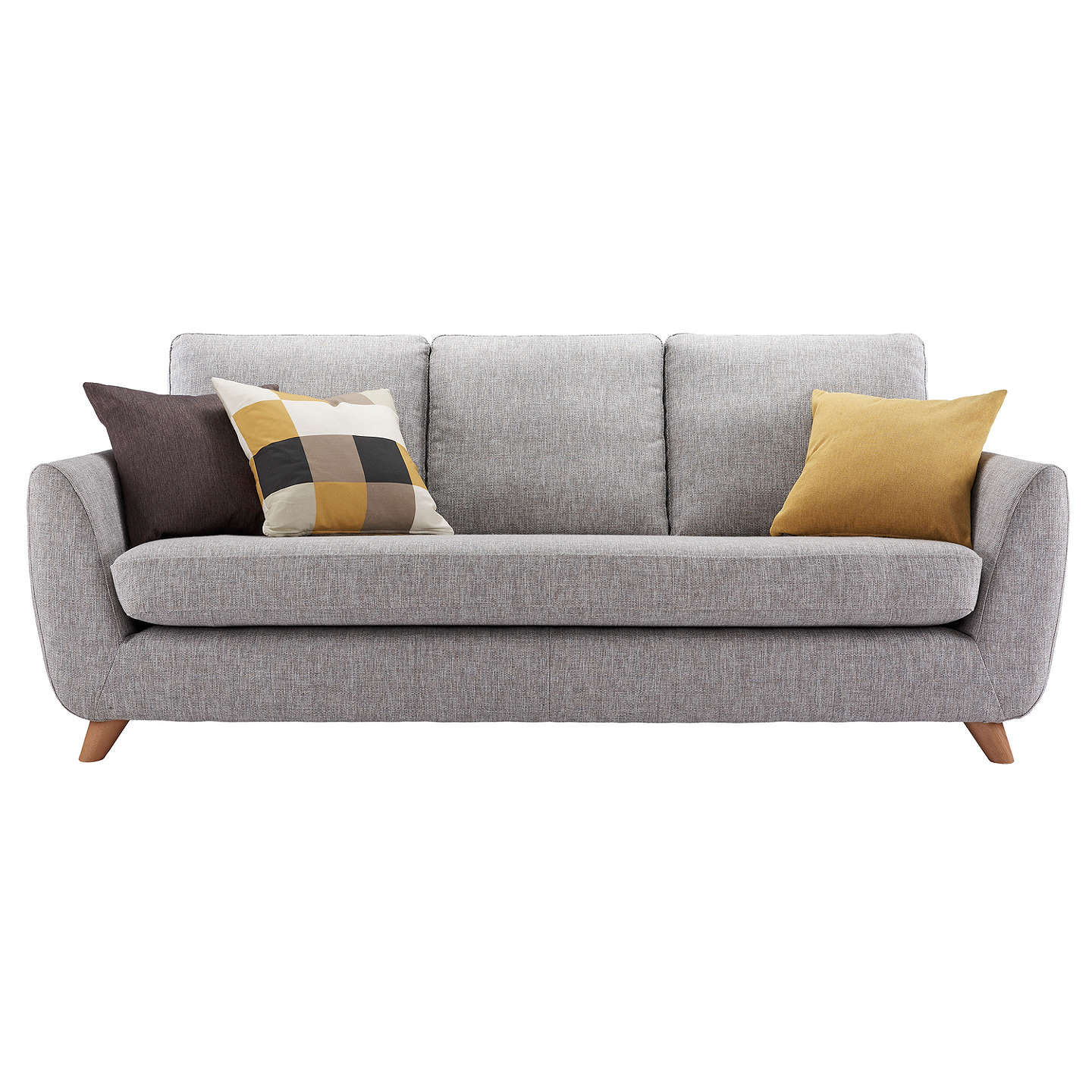 g plan vintage the sixty seven large 3 seater sofa marl grey at john lewis. Black Bedroom Furniture Sets. Home Design Ideas