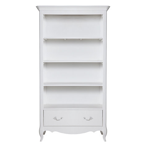 Buy John Lewis Camille Bookcase, White Online at johnlewis.com