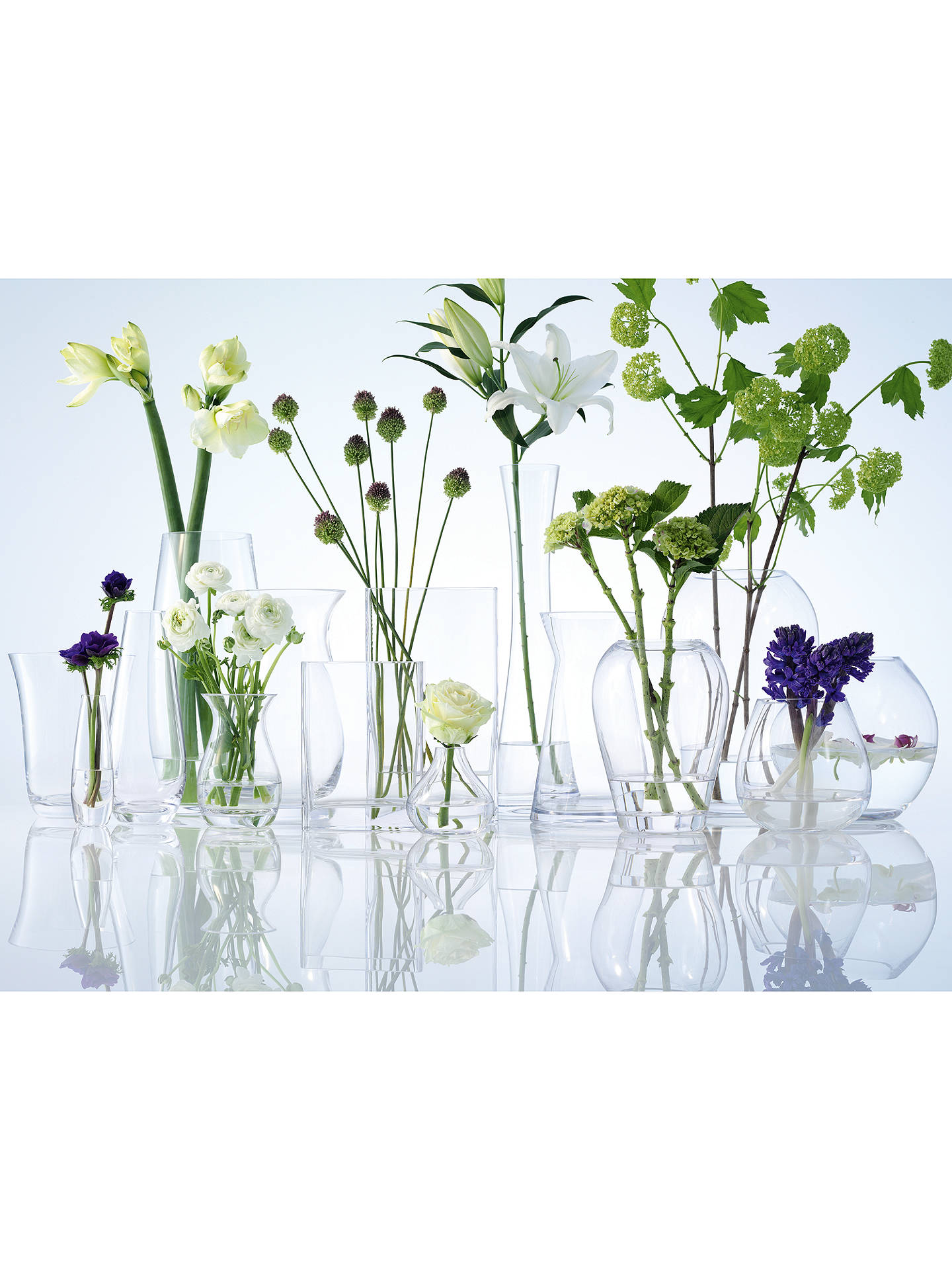 Buy LSA International Flower Tall Single Stem Vase, H50cm Online at johnlewis.com