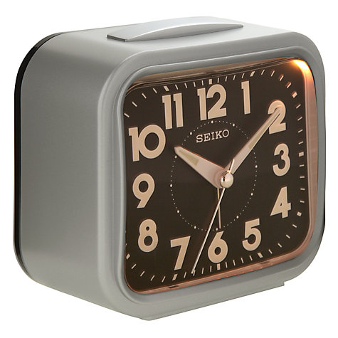 Buy Seiko Loud Bell Alarm, Black Online at johnlewis.com