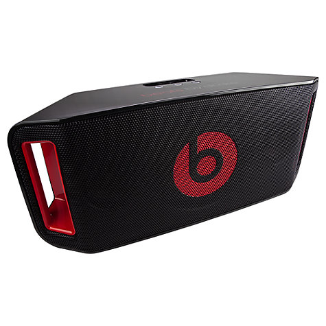 Buy Beats™ Beatbox Portable Bluetooth iPod Dock, Black Online at johnlewis.com