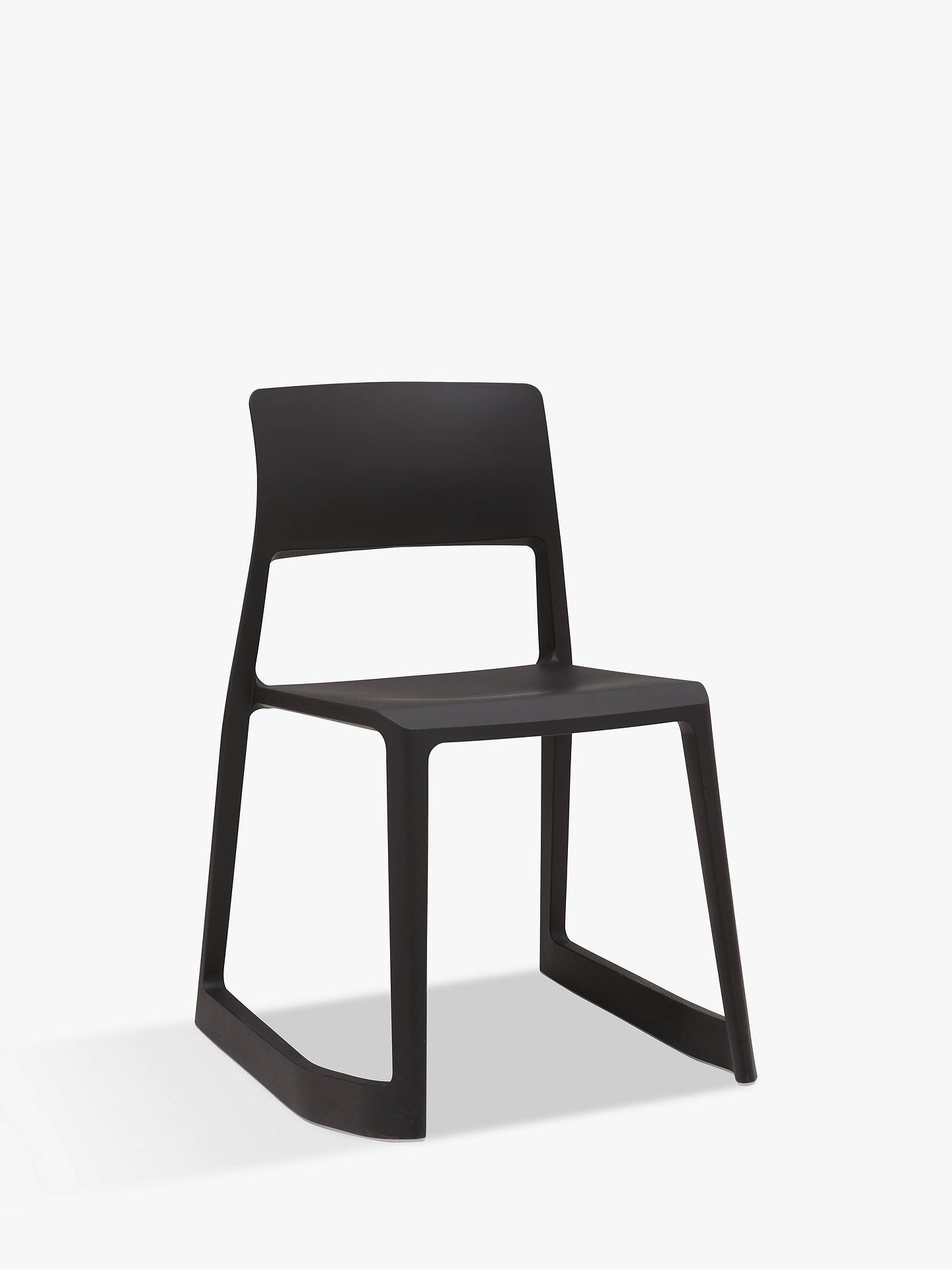 vitra tip ton chair black at john lewis partners. Black Bedroom Furniture Sets. Home Design Ideas