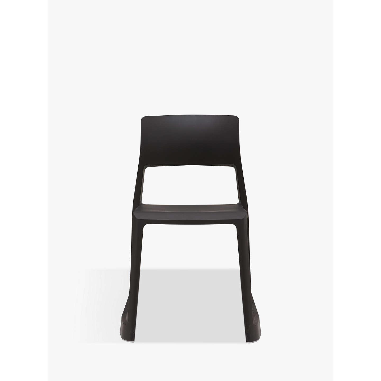 vitra tip ton chair black at john lewis. Black Bedroom Furniture Sets. Home Design Ideas