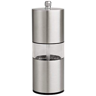 House by John Lewis Stainless Steel Salt & Pepper Set