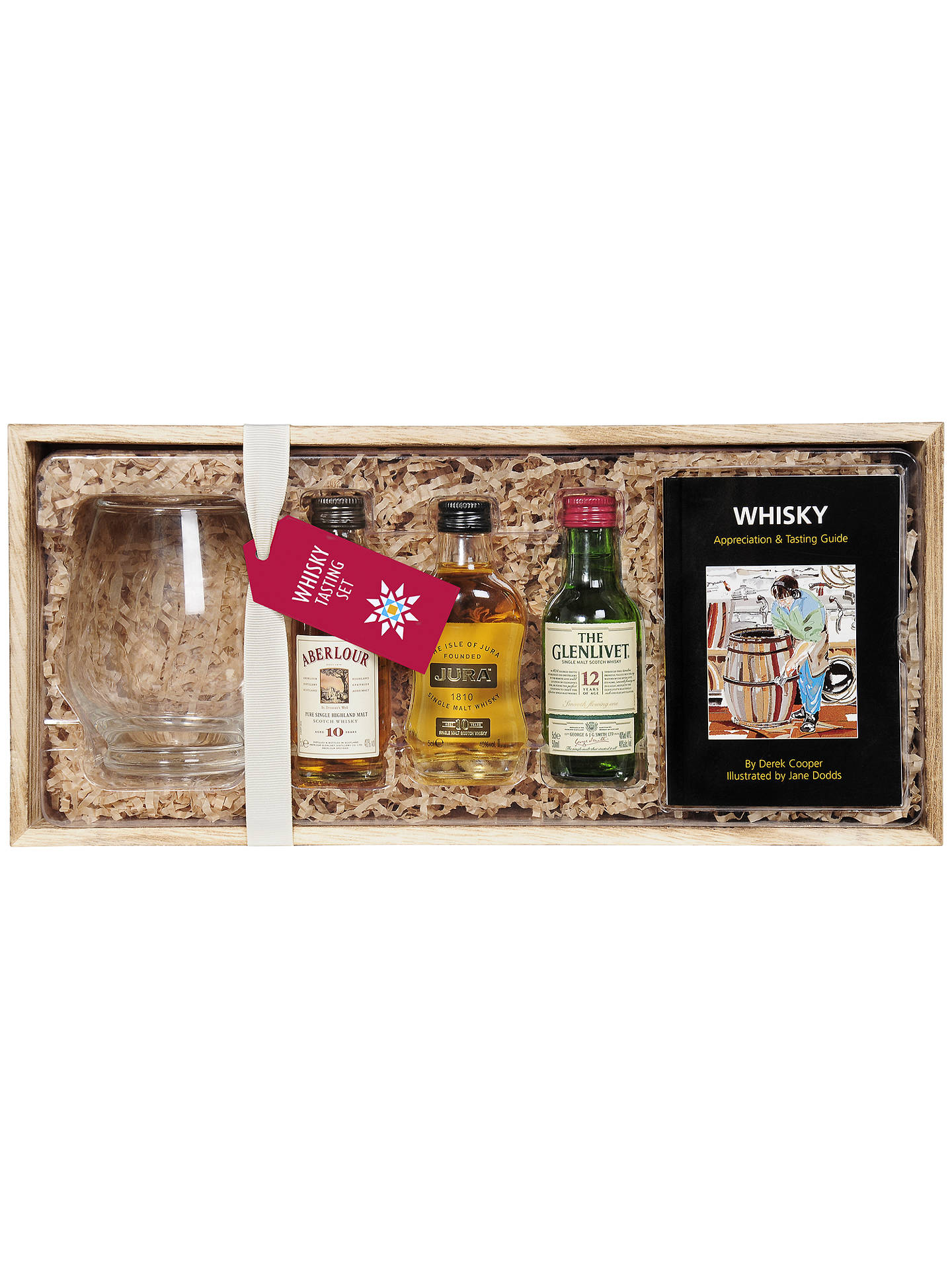 BuyWhisky Tasting Set with Whisky Glass, 3 x 5cl Online at johnlewis.com