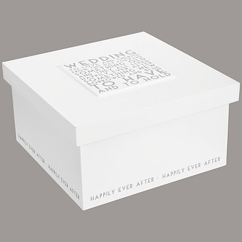 Buy East of India Wedding Memories Box Online at johnlewis.com