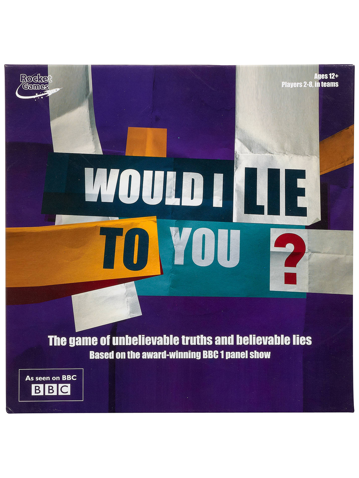 BuyWould I Lie To You? Board Game Online at johnlewis.com