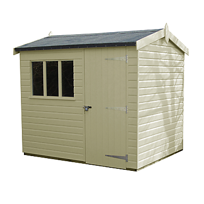 Crane 1.8 x 2.4m Windsor Garden Shed FSCcertified (Scandinavian Redwood)