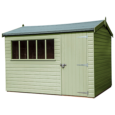 Crane 3 x 3.6m Windsor Garden Shed FSCcertified (Scandinavian Redwood)