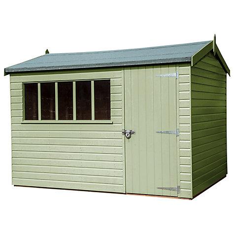 Garden Sheds John Lewis buy crane 3 x 3.6m windsor garden shed, fsc-certified