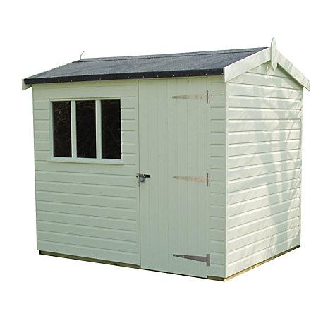 buy crane 18 x 24m windsor garden shed fsc certified scandinavian redwood - Garden Sheds John Lewis