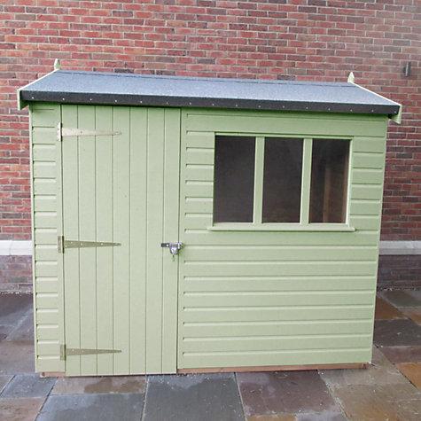 buy crane 18 x 24m balmoral garden shed fsc certified scandinavian redwood - Garden Sheds John Lewis