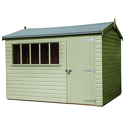 Crane 1.8 x 3m Windsor Garden Shed, FSC-certified (Scandinavian Redwood)