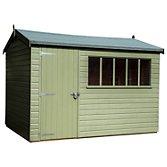 this review is fromcrane 18 x 3m balmoral garden shed fsc certified scandinavian redwood - Garden Sheds John Lewis