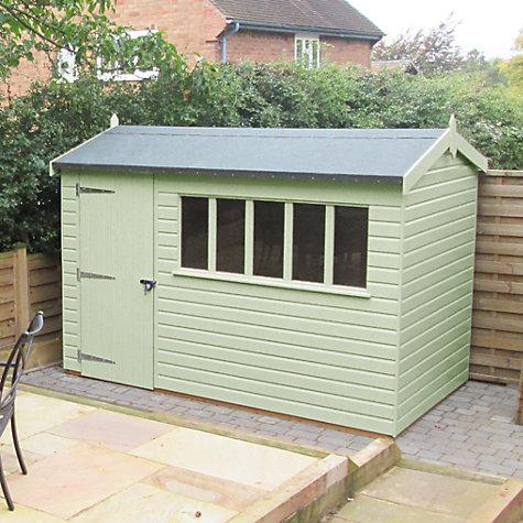 Garden Sheds 3m X 3m buy crane 1.8 x 3m balmoral garden shed, fsc-certified