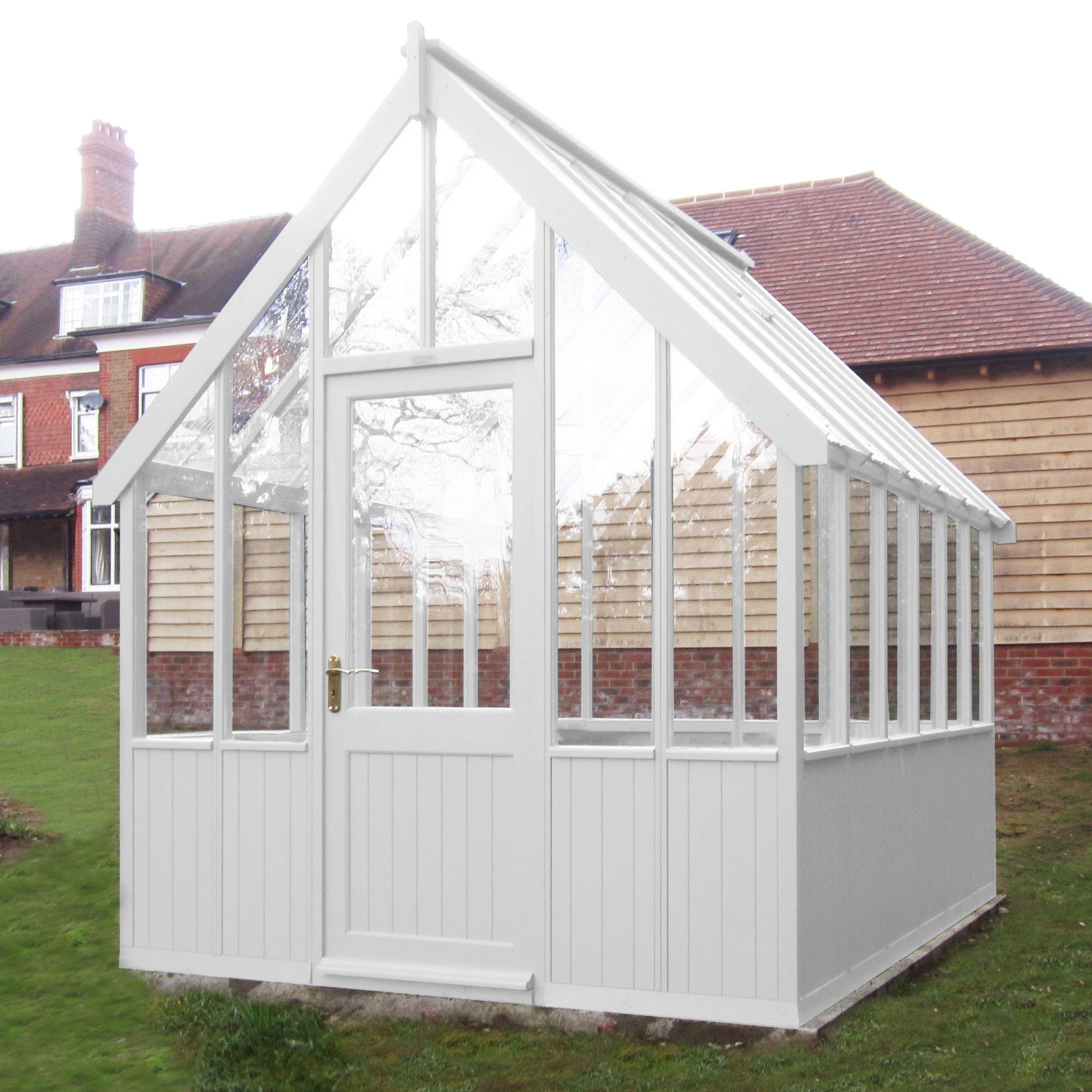 Crane Crane 1.8 x 2.4m Greenhouse, FSC-certified (Scandinavian Redwood)